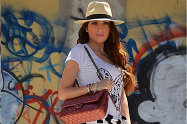 JustFashionable about Misstella hat and bag