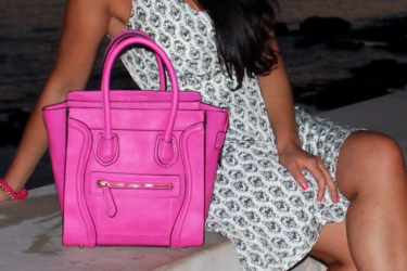 Mode e Macarons about pink misstella bag
